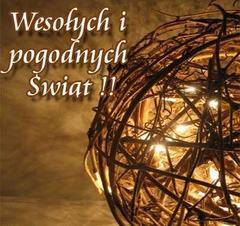 Wesołych i pogodnych Świąt