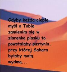 Gdyby każda ciepła myśl o Tobie...