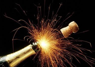 Wystrzałowy szampan