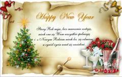 Happy New Year - stary rok mija...
