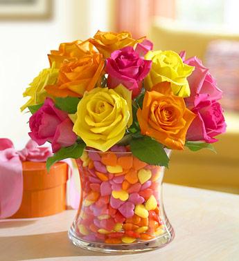 Kolorowe kwiatunie
