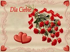 Dla Ciebie - róże
