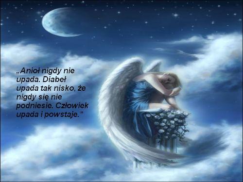 Anioł nigdy nie upada...