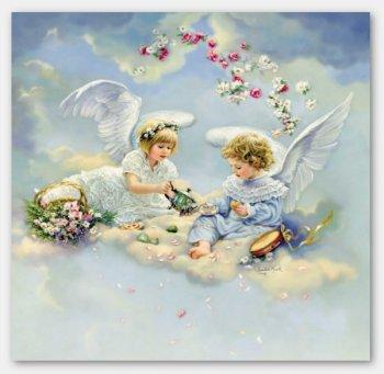 Dwa aniołki