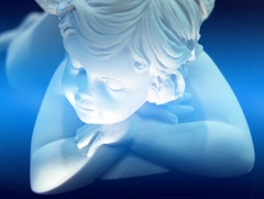 Niebieski aniołek