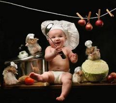 Mały kucharz