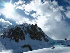 Piękna zima w górach