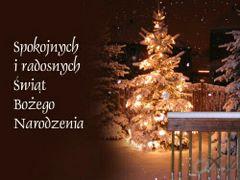 Spokojnych i radosnych Świąt