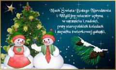 Niech Święta Bożego Narodzenia...