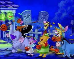 Miś i przyjaciele - halloween