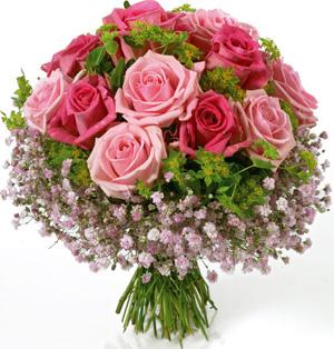 Dużo kwiatów na imieniny