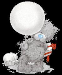 Miś z balonem
