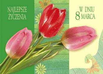 Najlepsze życzenia w dniu 8 marca