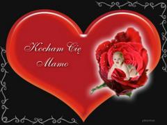 Kocham Cie mamo !
