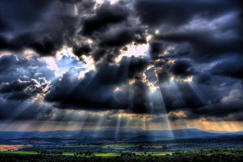 Przebłysk światła