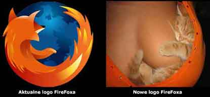 Nowe logo FireFoxa