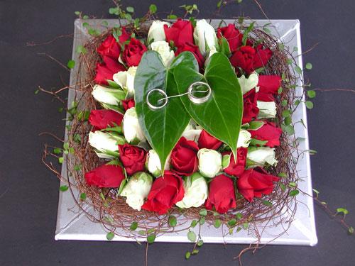 Obrączki na różach