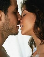 Namiętny pocałunek