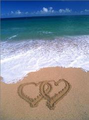 Dwa serca na plarzy