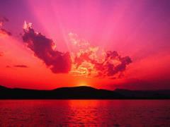 Inne różowe niebo