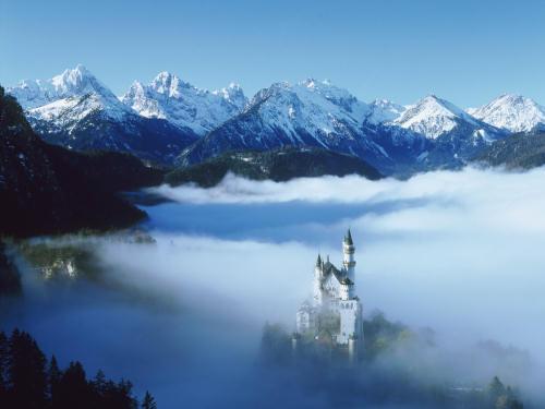 Zamek w górach